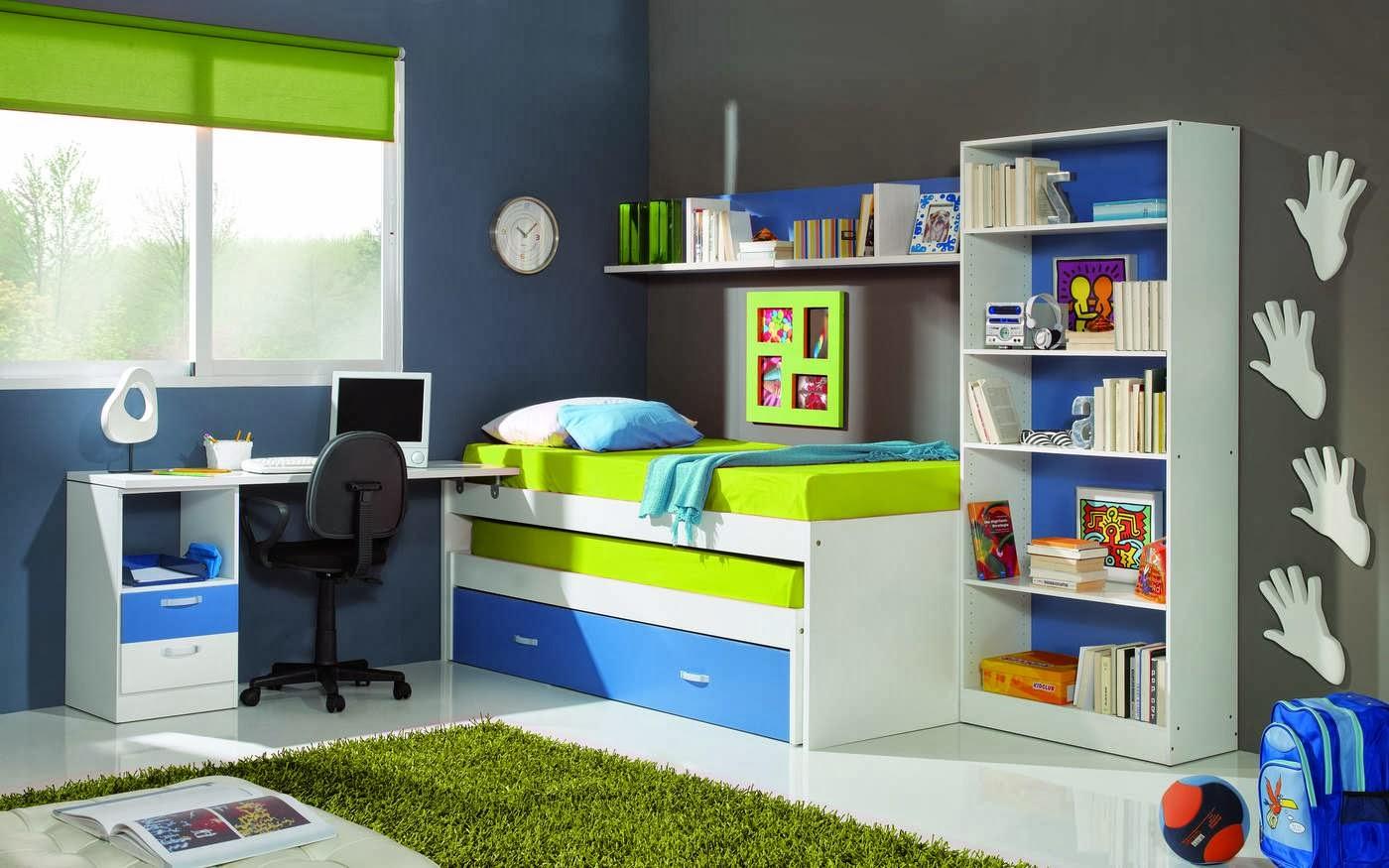 10 consejos para elegir el color de las habitaciones de - Color habitacion nino ...